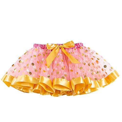 Amphia - Badminton-Röcke & Skorts für Mädchen in Rosa, Größe 5-8 Jahre