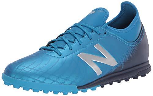 New Balance Men's Tekela V2 Magique Turf Soccer Shoe, Vision Blue/Neo Classic Blue, 7 Wide