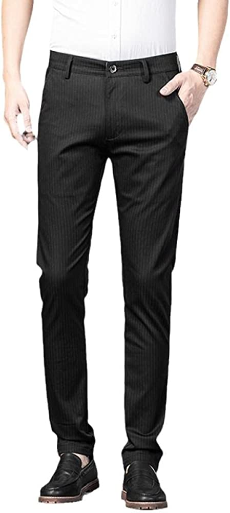 Men's Pants Max 48% OFF Fashion Plaid Atlanta Mall Casual Dress