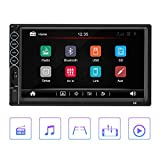 Car MP5 Player, 7 Inch HD Bluetooth Car Radio Multimedia Player Touch Screen