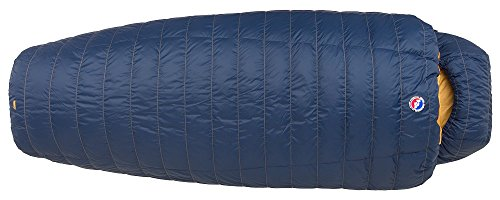 Big Agnes Summit Park 15 (600 DownTek) Sleeping Bag, Wide Long, Navy