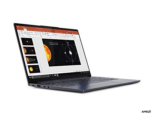 Lenovo Yoga Slim 7 LPDDR4x-SDRAM Notebook 35,6 cm (14) 1920 x 1080 píxeles AMD Ryzen 7 8 GB 1000 GB SSD Wi-Fi 6 (802.11ax) Windows 10 Home Grey (82A200A2PB)