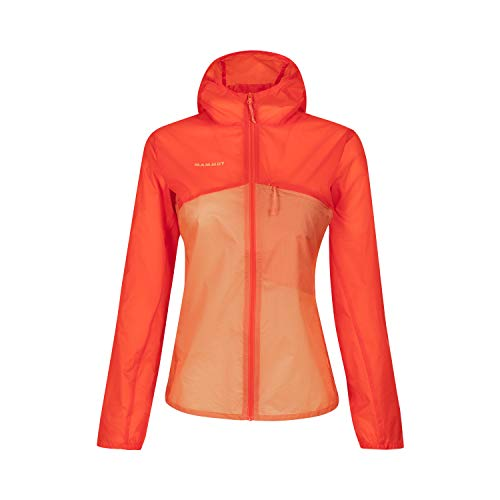 Mammut Damen Windbreaker-jacke Mit Kapuze Convey Hooded Windbreaker, rot, S