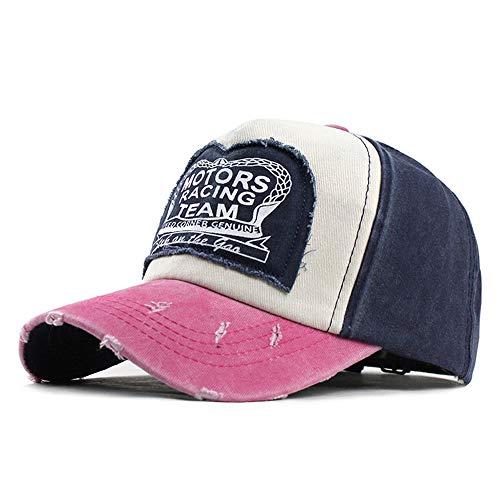 WYX Unisex Baseballmütze Hysteresen-Kappen Für Frauen Männer Hip Hop Cap Sport Mütze Lässige Freilauf Cap Baseball-Mütze,d
