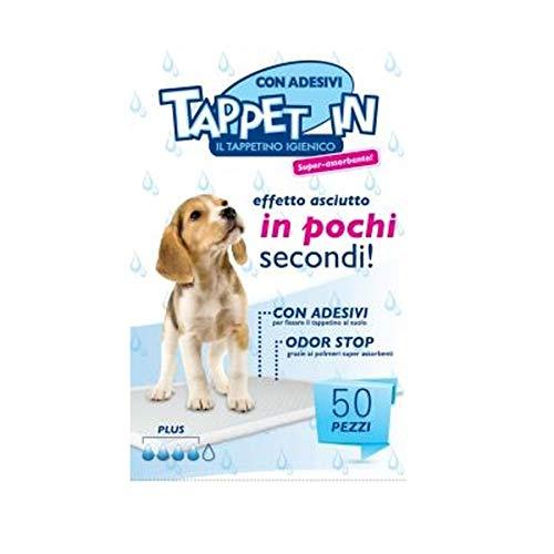 DIGMA Tappetini Igienici per Cani e Animali Domestici 60 x 90 50 Pezzi