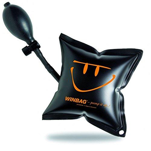 Winbag 3013294 Montagekissen Belastung bis 135 kg, Schwarz