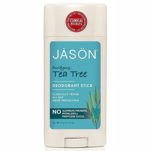 Jason Natural Cosmetics Deodorant Stick, Tea Tree Oil For Men And Women, 2.5 oz by Jason