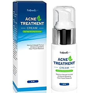 Acne treatment products VieBeauti Acne Treatment Cream with Tea Tree Oil – Acne Spot Treatment- Acne