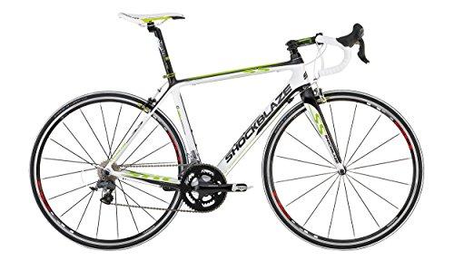 Shockblaze BK13SB2103 S5 Ultegra Bicicleta de Carretera, Color Blanco