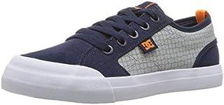 DC Boys' Evan SE Skate Shoe Navy/Grey 11.5 M US Little Kid [並行輸入品]