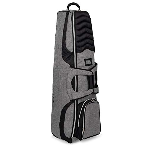 Founders Club Golf Travel Bag Travel Cover Luggage for Golf Clubs with Padded Club Protection and Removable Panel for Embroidery