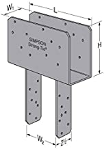 Simpson Strong Tie CCQ44-SDS2.5HDG Beam, 4X Post HDG SDS