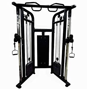 Commercial Home Gym – Multifunction Cable Machine W/Built in 352 lbs Stack Weights