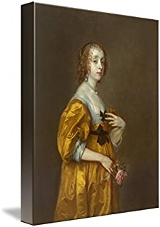 Wall Art Print Entitled Anthony Van Dyck, 1599-1641 Mary Villiers, Lady He by Celestial Images   24 x 31