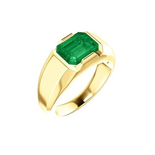 Herren-Ring Chatham Smaragd