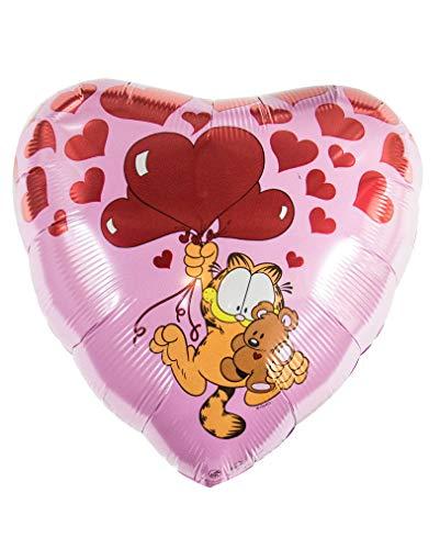 Horror-Shop Fleuret ballon Valentinsherz avec Garfield
