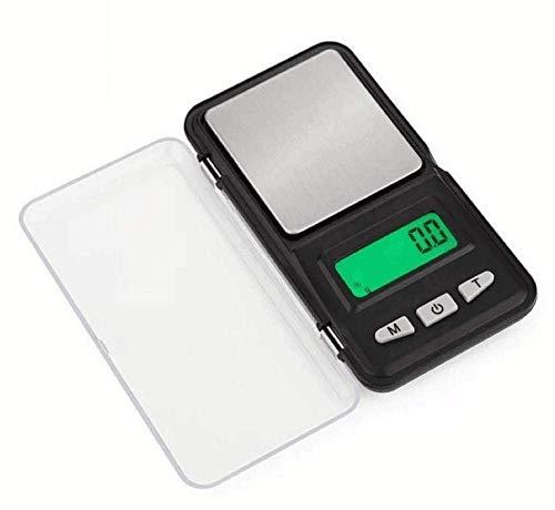 GPWDSN Báscula Digital accuweight, Báscula de Cocina Digital Básculas de joyería, Básculas, Básculas electrónicas de Bolsillo, 0.01G, 500G / 0.01, Mini básculas de joyería, 138-100G / 0.01G