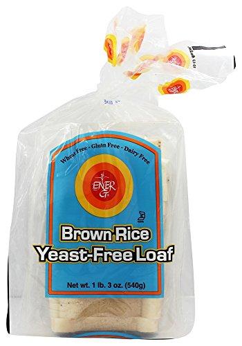 Ener-G - Gluten Free Bread Brown Rice Yeast-Free Loaf - 19 oz (pack of 2)
