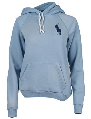 Ralph Lauren Sudadera con capucha para mujer en 3 colores. azul claro XS