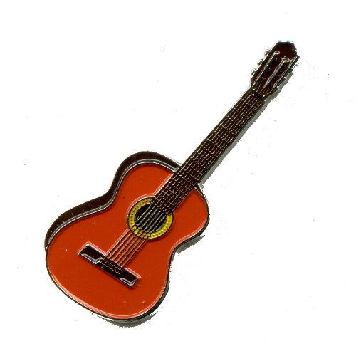 Guitare classique guitare musique metal button badge écussons 68 broches pin
