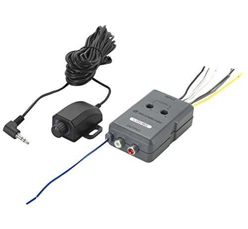 SCOSCHE LOC90 Car Stereo Speaker 2-Channel Audio Adjustable Level Lineout Converter