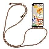 betterfon | LG K61 Handykette Smartphone Halskette Hülle mit Band - Schnur mit Hülle zum umhängen Handyhülle mit Kordel zum Umhängen für LG K61 Rainbow