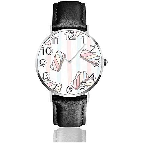Reloj Reloj de Pulsera Algodón de azúcar clásico Reloj de Cuarzo Casual...