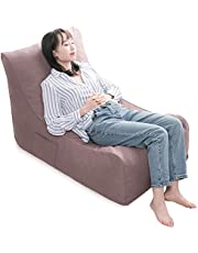 iOCHOW 座椅子 ソファー ローソファー 1人掛け カバー取り外し洗濯可能 おしゃれ 新生活 ライトブラウン