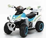 TOYSCAR electronic way to drive Quad Elettrico per Bambini Racer Sport con luci Suoni...