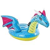 Intex 57563NP - Dragón hinchable , hinchable para niños, medidas 201x191 cm, hinchable para piscina, playa, a partir de los 3 años, capacidad 40 Kg, colchonetas
