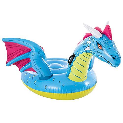 Intex 57563NP - Dragón hinchable , hinchable para niños, medidas 201x191 cm,...