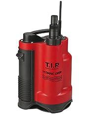 T.I.P. I-Compac 13000, Drainage-Dompelpomp Voor Vuilwater, Tot 13.000 L/U Debiet, Rood