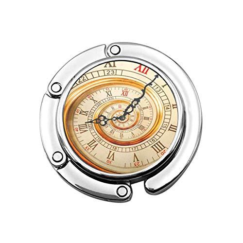 Perchero Monedero Gancho Reloj Antiguo Antiguo Reloj Espiral...