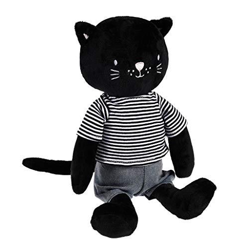 "Rex London Stofftier Schwarze Katze ""Chloe The cat"": Plüschtier, Kuscheltier"