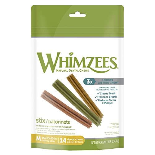 WHIMZEES - Confezione da 14 dolcetti per cani dentali senza grano naturale