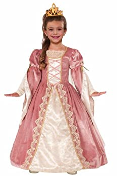 Forum Novelties Designer Collection Deluxe Victorian Rose Costume Dress Child Small