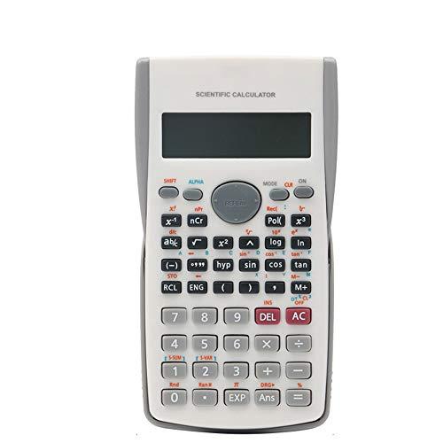 XBAO Basisrekenmachine/wetenschappelijke rekenmachines voor engineering/240 computerfuncties/LCD-weergave/schuivende beschermkap/wetenschappelijke rekenmachines voor middelbare school