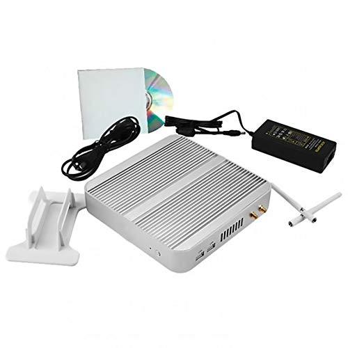 I3 5005U Miniatuur Computer, Fanless, 2.0G Dual-Core Four-Thread CPU, HD4000 1080P HD Graphics, Gigabit Ethernet, Gemakkelijk te gebruiken Kleur: wit