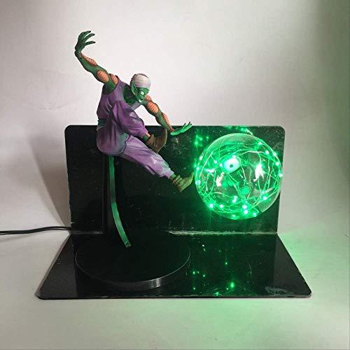 3D Goku Dragon Ball Lampe Hand Kreative Tischlampe Led Tischlampe Schutzbrille Lampe Licht Licht Spielzeug Kreatives Leuchten Englisch Regiert Grün
