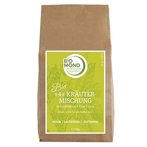 BIO *4*- Kräutermischung Kräutertee *Indianertee* René Caisse, 115 g / Urmischung / Schamanen Tee / Packung für 1/2 Jahr