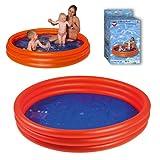 Smart Planet® Baby Pool - Mini Kinder Planschbecken 175 cm Kleiner Pool zum Baden für Babys und Kleinkinder - Aufblasbarer Swimmingpool zum Planschen