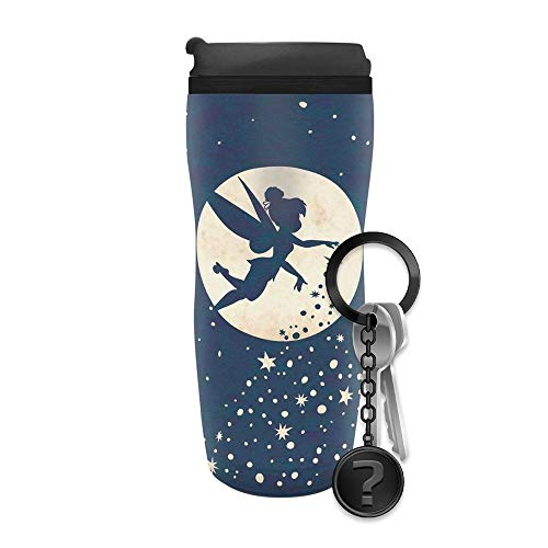 Peter Pan - Tinkerbell - Thermobecher   Offizielles Merchandise   SET inkl. Schlüsselanhänger
