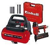 Einhell TC-AC 190/6/8 OF Kompressor, 1.100 W, max. 8 bar, öl-/servicefreier Motor, 6 l + Einhell...