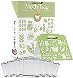 LIGHTSMAX Moth Traps - Keep Clothes Safe - Moth Repellent - Clothes Moth