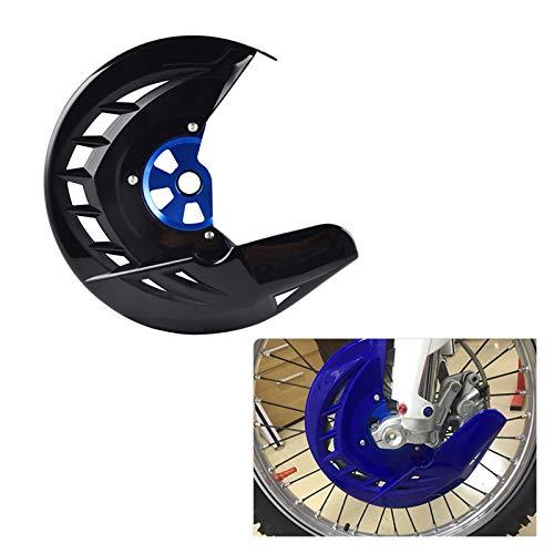 Gzcfesbn Protezione del disco del disco del disco del freno anteriore dei motocicli della protezione del disco del freno anteriore per Yamaha YZ250F YZ450F 2014-2020 Durable