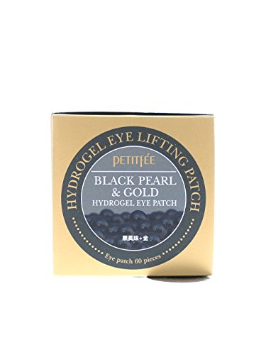 PETITFEE Black Pearl & Gold Hydrogel Eye Patch - 60 sheet by Petitfee