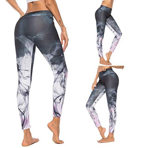 CXKNP yogabroek, naadloze gazakken, yoga, broek, gamassen, sporten, vrouwen, fitness, sport, slanke hoge taille, elastische gamassen, joggingbroek