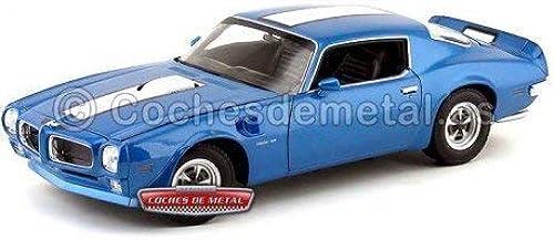 compra limitada 1972 Pontiac Firebird Trans Am azul-blanco azul-blanco azul-blanco 1 18 Welly 12566  cómodamente