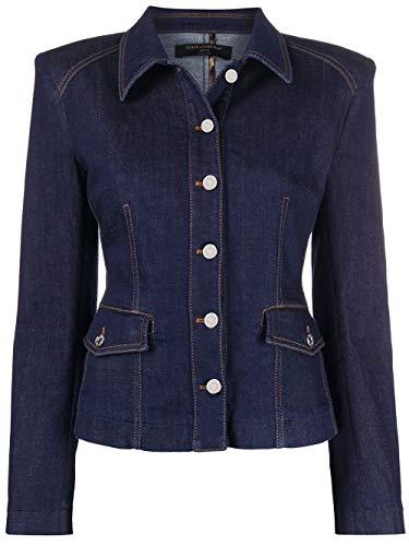 Luxury Fashion | Dolce E Gabbana Donna F9H07DG898ZS9000 Blu Cotone Giacca | Primavera-Estate 20
