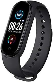 Smart Watch, Activity Tracker, Activity Monitor, Con display LED a colori da 0,95 pollici, Smartwatch Sport Donna e Uomo I...